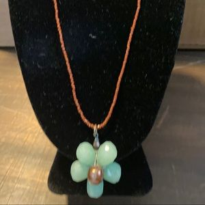 Cute Girl's Flower Necklace
